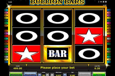 bullion bars novomatic spielautomaten