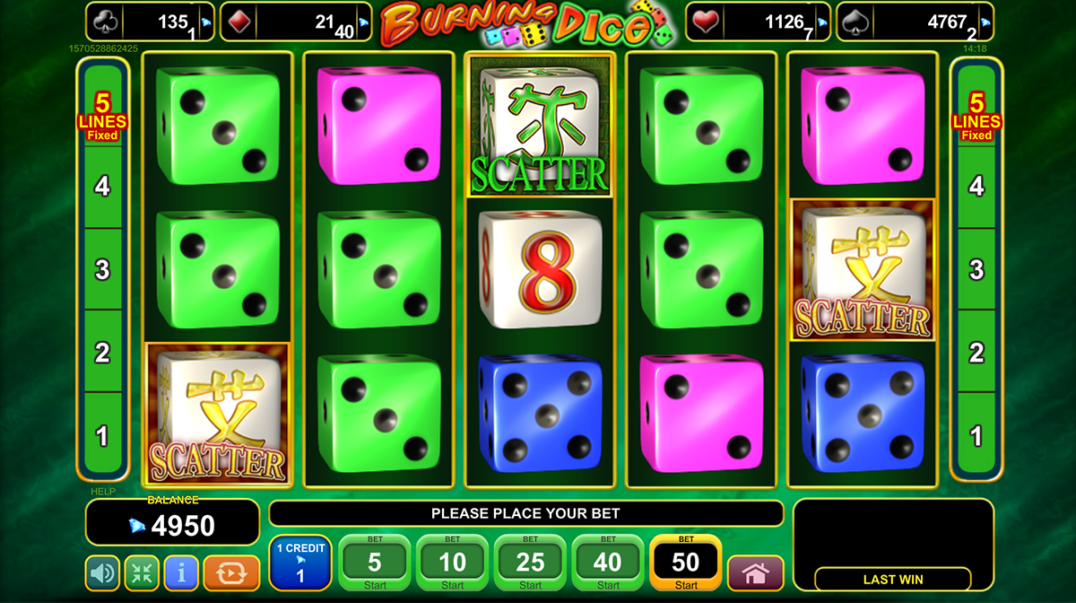 Spiele Burning Dice - Video Slots Online