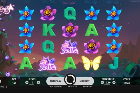 butterfly sta netent spielautomaten