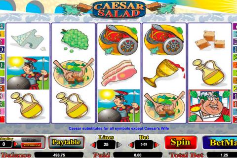 caesar salad amaya spielautomaten
