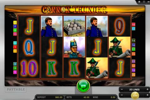 cannon thunder merkur spielautomaten