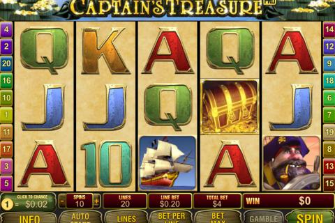 captains treasure pro playtech spielautomaten