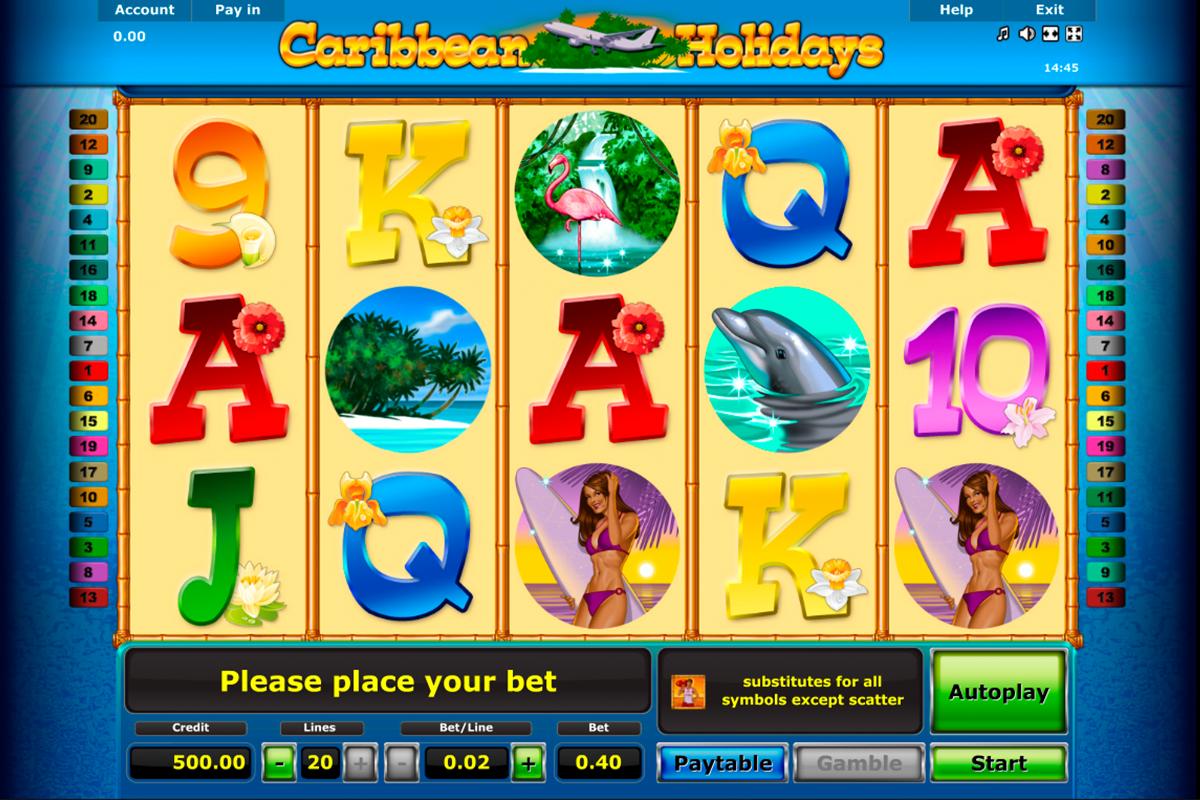Caribbean Holidays kostenlos spielen