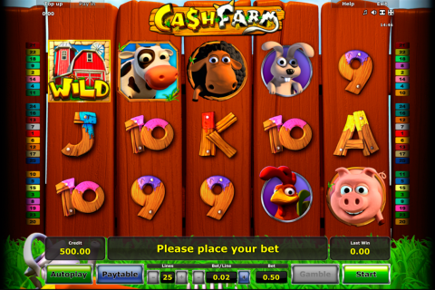 cash farm novomatic spielautomaten
