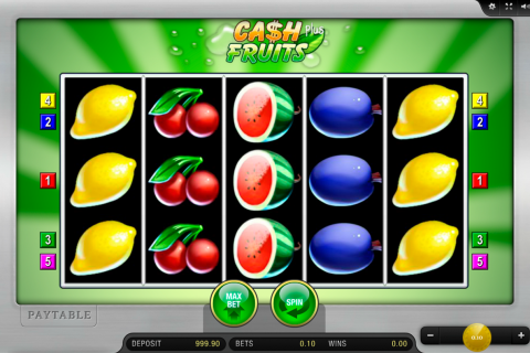 cash fruits plus merkur spielautomaten