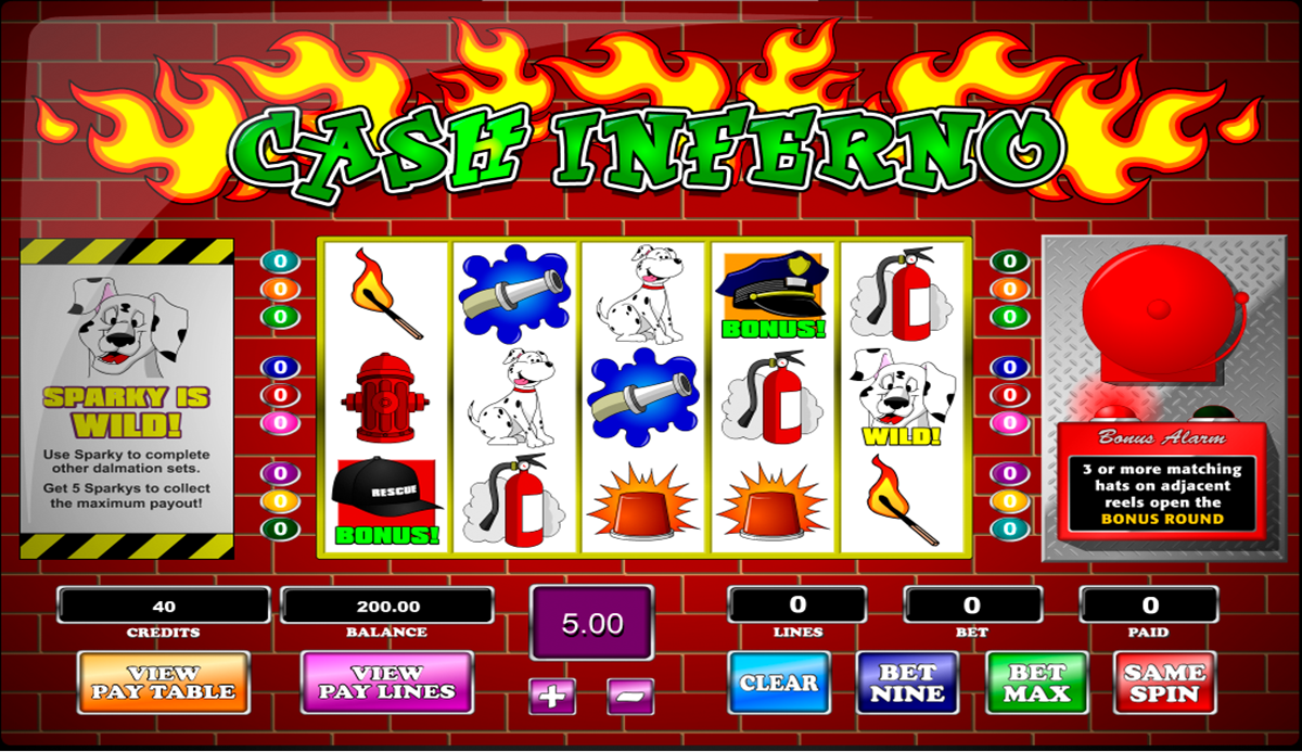 Spiele Inferno - Video Slots Online