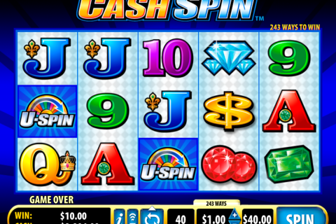 cash spin bally spielautomaten