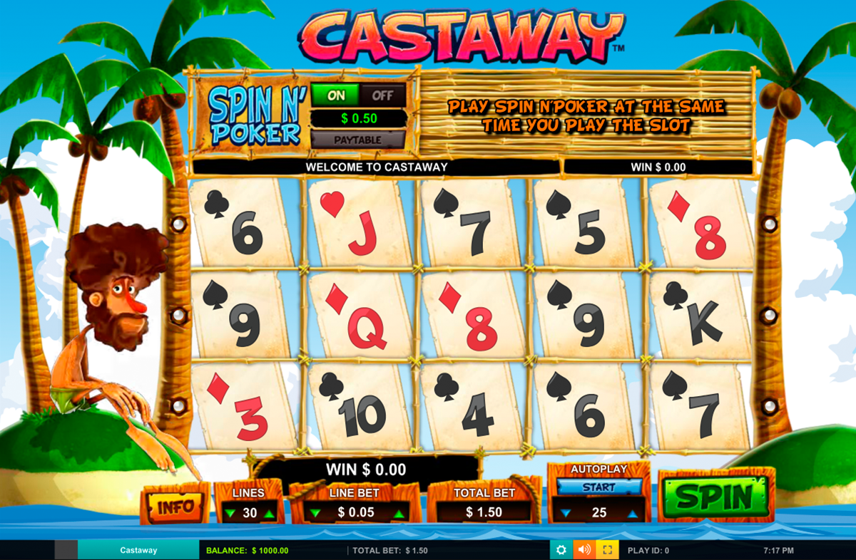 Triple seven slot machine