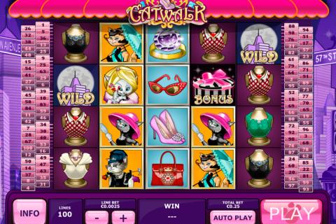 catwalk playtech spielautomaten