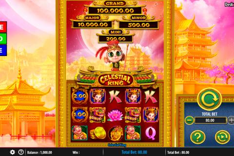 celestial king bally spielautomaten