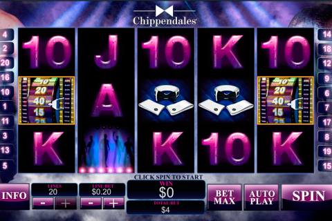 chippendales playtech spielautomaten
