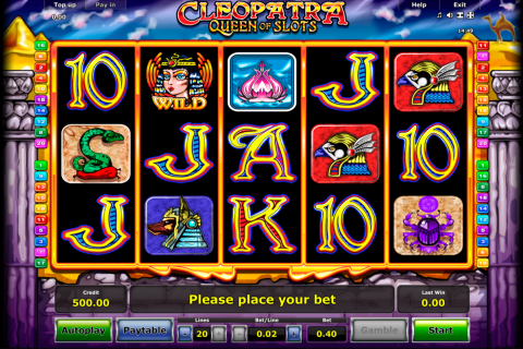 cleopatra novomatic spielautomaten