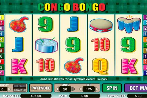 congo bongo amaya spielautomaten