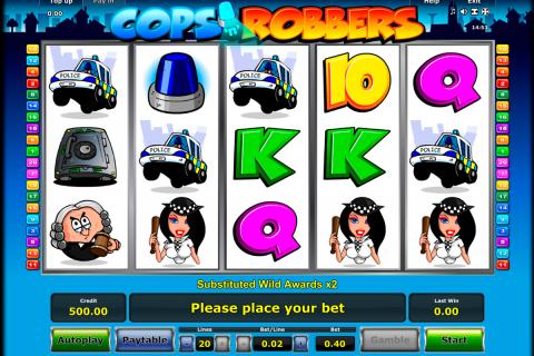 cops n robbers novomatic spielautomaten