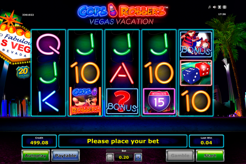 cops n robbers vegas vacation novomatic spielautomaten