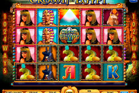 crown of egypt igt spielautomaten