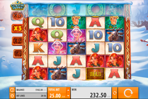 crystal queen quickspin spielautomaten