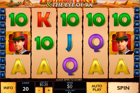 daring dave the eye of ra playtech spielautomaten