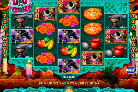 day of the dead igt spielautomaten
