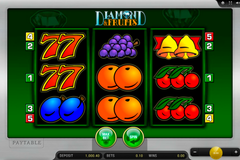 diamond and fruits merkur spielautomaten
