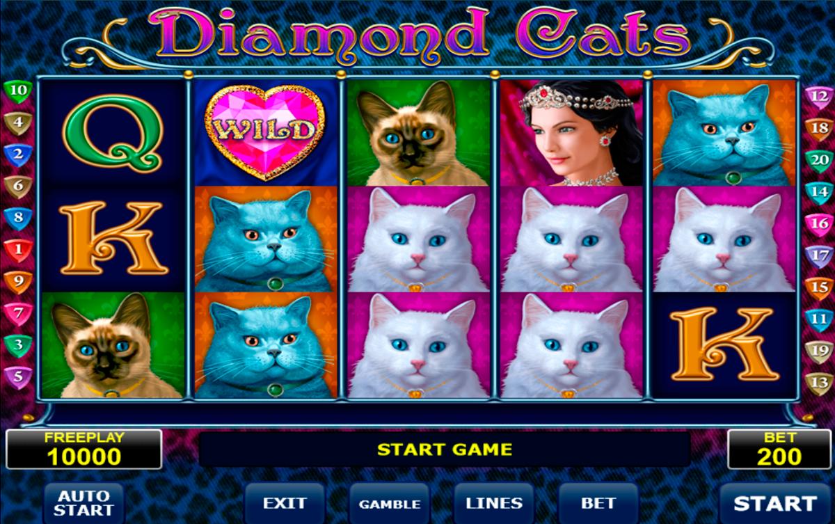 diamond cats amatic spielautomaten