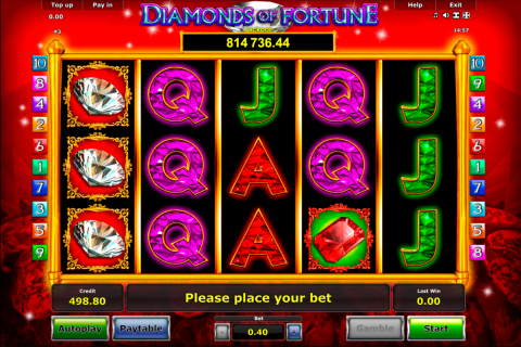 diamonds of fortune novomatic spielautomaten
