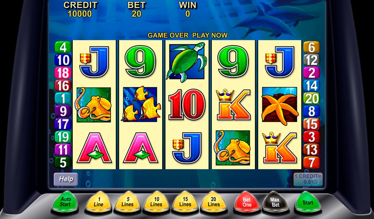 dolphin treasure aristocrat spielautomaten