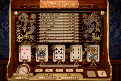 double joker poker playson