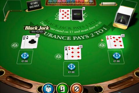 double posure blackjack professional series netent online