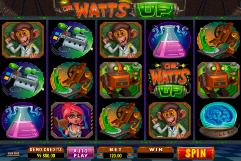 dr watts up microgaming spielautomaten