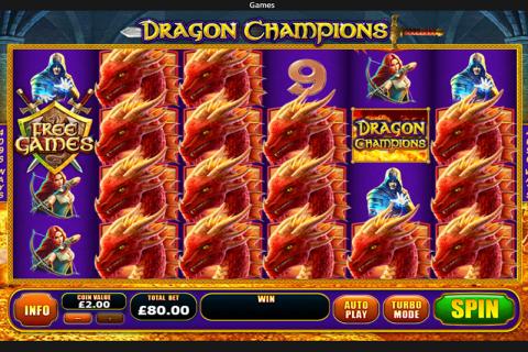 dragon champions playtech spielautomaten