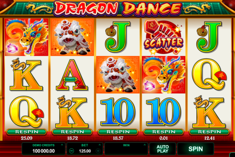 dragon dance microgaming spielautomaten