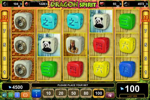 dragon spirit egt spielautomaten