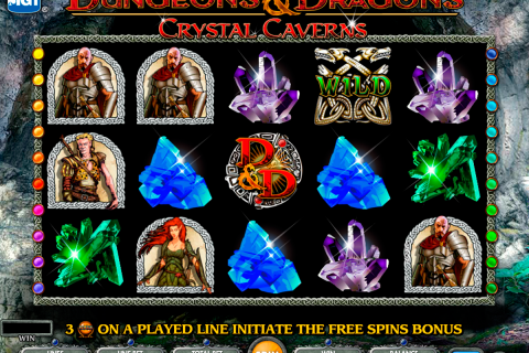 dungeons and dragons crystal caverns igt spielautomaten