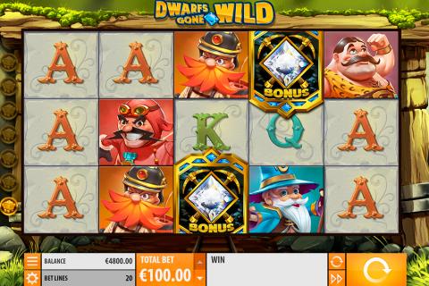 dwarfs gone wild quickspin spielautomaten