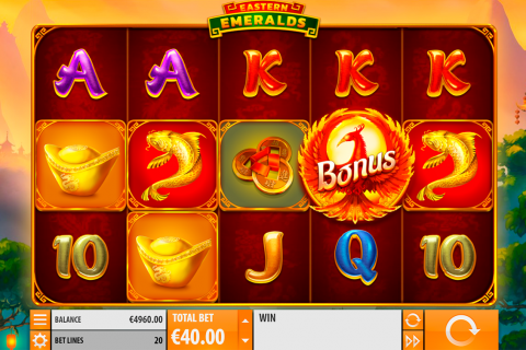 eastern emeralds quickspin spielautomaten