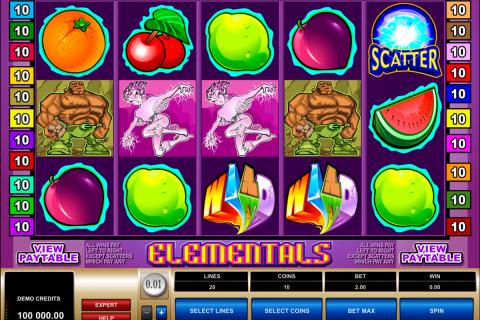 elementals microgaming spielautomaten