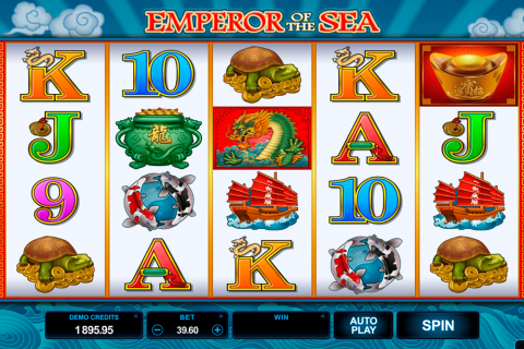 emperor of the sea microgaming spielautomaten