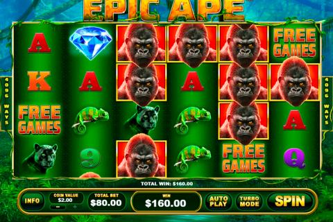epic ape playtech spielautomaten