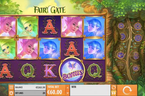 fairy gate quickspin spielautomaten
