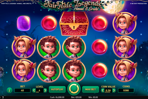 fairytale legends hansel and gretel netent spielautomaten