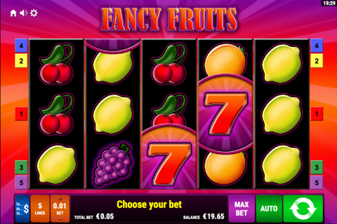 fancy fruits bally wulff spielautomaten