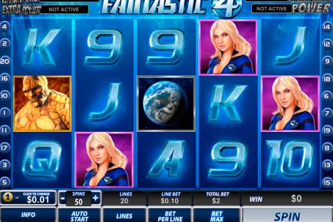 fantastic four playtech spielautomaten