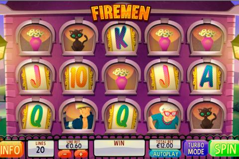 firemen playtech spielautomaten