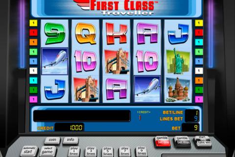 first class traveller novomatic spielautomaten