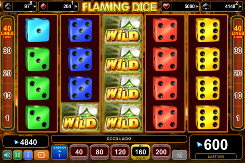 flaming dice egt spielautomaten