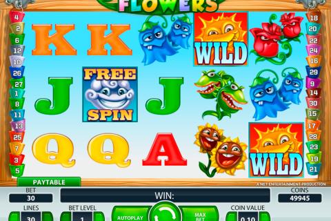 flowers netent spielautomaten