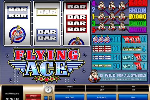 flying ace microgaming spielautomaten