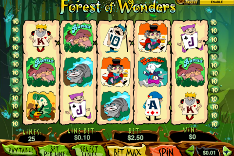 forest of wonder playtech spielautomaten