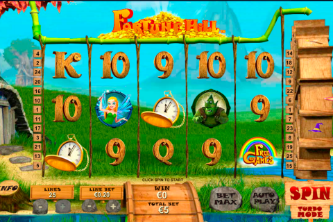 fortune hill playtech spielautomaten